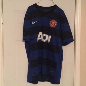 Nike 11-12 Manchester United away Dri-Fit jersey